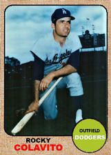 ROCKY COLAVITO 68 DODGERS ACEO ART CARD ## BUY 5 GET 1 FREE ## or 30% OFF 12