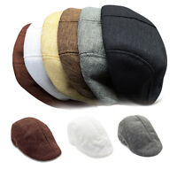 Men Women Beret Peaked Cap Newsboy Hat Flat Hat Cabbie Boina Golf Style