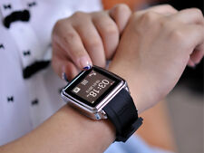 BLUETOOTH SMARTWATCH MI SMS AND PHONEBOOK SYNC, ANSWER CALL, TOUCH SCREEN