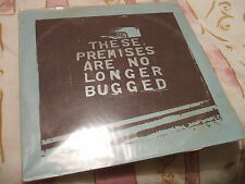 Neil Campbell, These Premises Are No Longer Bugged, textured sleeve