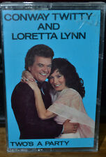 Two's a Party by Conway Twitty & Loretta Lynn (Cassette, Universal Special...