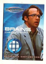 "THUNDERBIRDS Movie (TC4) BRAINS ""Checkered Shirt"" Costume Card"