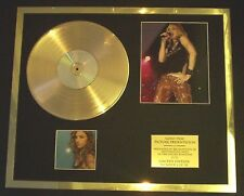 MADONNA RAY OF CD PHOTO / PIC GOLD DISC RECORD FREE P+P