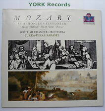VC 7 90702 1 - MOZART - Symphonies No 32 & 36 SARASTE Scottish CO - Ex LP Record