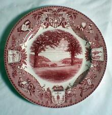 "WEDGWOOD WEST POINT VIEW NORTH TROPHY PT MILITARY ACADEMY 10 1/2"" DINNER PLATE"