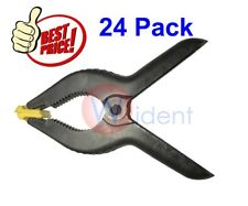 24Pk 6 Inch Spring Clamps Large Heavy Duty Plastic Clamps