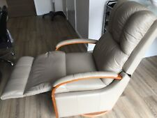 lazyboy leather recliner