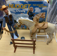 Nugget The Golden Palomino Horse & Dusty Figure w/ Box Kenner 1975 Vintage Rare