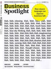 Business Spotlight, Heft 2/2018: Clearer language   +++ wie neu +++