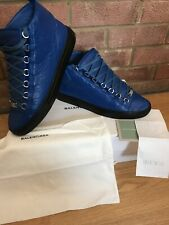 Genuine mens Balenciaga Arena High Blue Size Uk8(42)not android homme