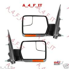 Side Mirror LED Flasher Blinkers AMBER ORANGE CHEVY FORD DODGE TOYOTA GMC JEEP