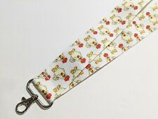"""Plump Farm Chickens 1 1/2"""" Wide Double Sided ID Lanyard"""