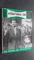 Rivista per Lettera Cinema N°26 Avril 1958 ABE