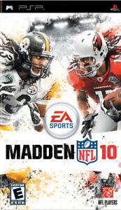Madden NFL 10  PSP Game
