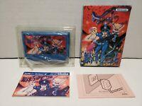 Earth Fighter Rayieza Nintendo Famicom NES Japan Import Complete in Box CIB