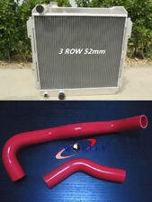 TOYOTA HILUX LN85 LN60 LN61 LN65 2.4LTR DIESEL MT Aluminum Radiator & red HOSE