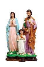 "Statua Sacra Famiglia - Sacre Family Statue Cm. 43 (16,29"") Resin"