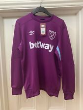 WEST HAM UNITED 19/20 SWEAT TOP SMALL S END OF SEASON SALE