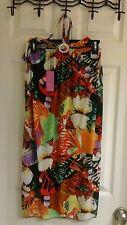 Ace Fashion, summer dress, junior girls size XXL, multi color, butterflies