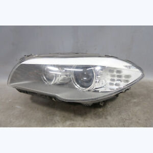 DAMAGED 2011-2013 BMW F10 5-Series Sedan Left Front Xenon Adaptive Headlight OEM