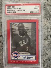 1987 BDK Frank Thomas PanAm - PSA 9