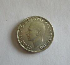 Australia 1947 Florin Silver Coin