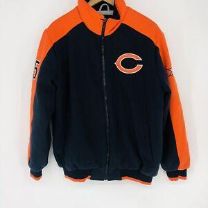 NFL Super Bowl Champion Chicago Bears '85 Full Zip Heavyweight Jacket Size Large