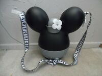 Disney Parks Steamboat Willie Minnie Mouse Popcorn Bucket Passholder Exclusive