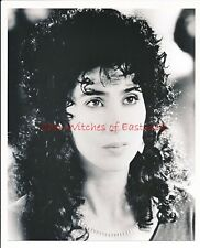 """Cher-Witches of Eastwick 8"""" x 10"""" Black & White Photo-1987-#386A"""