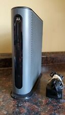 MOTOROLA DOCSIS 3.0 MG7310 CABLE MODEM N300 ROUTER  TESTED  H3.5