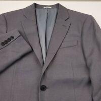Nordstrom Rack Men's Sport Coat Jacket Suit Separate Size 44L Long Trim Fit Gray