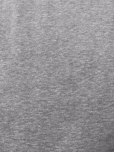 John Lewis Stretched Jersey Fabric Grey 2.9 Metres
