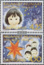 Denemarken - Groenland 297x-298x (compleet.Kwestie.) postfris MNH 1996 Kerstmis