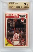 Michael Jordan 1989-90 Fleer Beckett BGS 9.5 Gem Mint Graded Card #21