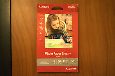 2 Packs Canon 4 x 6 Photo Paper Glossy Pixma - 50 sheets - 100 total - Inkjet