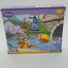 Disney 24 Piece Tigger Winnie Pooh Eeyeore Tigger Piglet Swimming Puzzle  Age 3+
