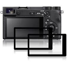 2X Screen Protector for Sony Aplha a6500 Anti-finger Optical 9H Tempered Glass