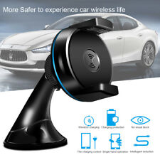 Wireless Car Charger Magnetic Holder Mount for Samsung Galaxy S7 S6 Edge Note 5