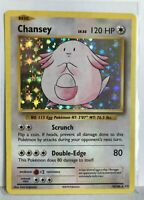 Chansey HOLO RARE 70/108 Pokemon TCG XY Evolutions Card NM Shiny foil