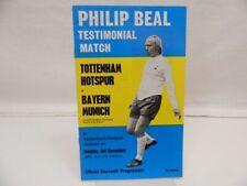 Tottenham Hotspur v Bayern Munich : official souvenir programme, 3.12.1973