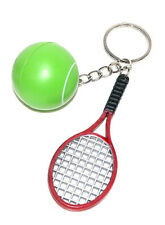 6x Kinder Schlüsselanhänger Schlüsselring Tennis Tennisball Tennisschläger Sport