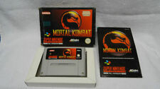 Nintendo SNES Fighting PAL Video Games with Manual