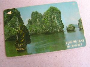 Vietnam used GPT card,   17VMCA Ha Long Bay