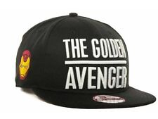 Marvel Iron man AKA The Golden Avenger New Era 9FIFTY Snapback Cap M/L
