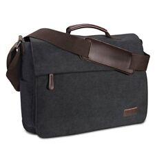 HERREN Umhängetasche aus Vintage Segeltuch Premium Herrentasche Laptoptasche NEU