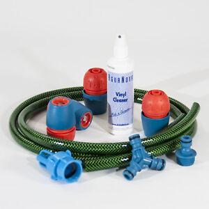 Quickfill Wasserbetten Dual Schlauchset,Schlauch und Anschlüße,Vinylreiniger