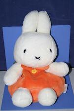 "Miffy White Rabbit Plush Doll Backpack Sekiguchi JPN 15.2"" Orange"