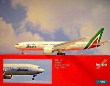 Herpa Wings 1:500 Boeing  777-200  Alitalia  I-DISU  530118  Modellairport500