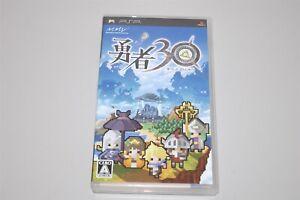 Yuusha 30 Japan Sony PSP game Half Minute Hero