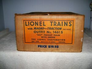 LIONEL SET BOX #1461S POSTWAR GOOD CONDITION